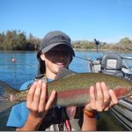 Beautiful Rainbow on the Lower Sac w/Jack Trout