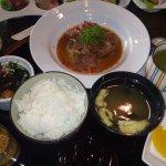 Gohan set and Kaisou salad