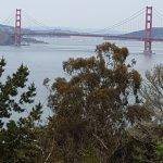 Views of the golden gate bridge