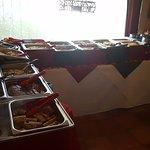 Sunday Brunch Food Area