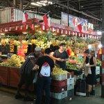 Tour of a market in Santiago