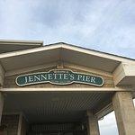 Jennette's Pier Sign.