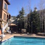 Pool & hot tub area