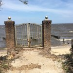 Gate to the ocean.