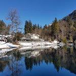 Photo de Blausee AG - Restaurants Hotel Forellenzucht