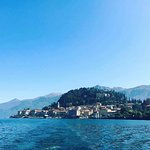 View of Bellagio from a Bellagio Water Limousine boat....Absolutely the best tour of the lake we