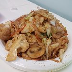 Nice fried noodle