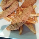 Castle John's - Chicken fingers with fries