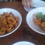 Shrimp and Calamari