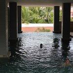 Inside Pool Area