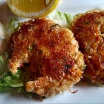 Excellent Crab Cakes. The Real Deal