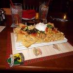 Tilted Kilt Pub and Eatery, N. Scottsdale, AZ. GREAT NACHOS.