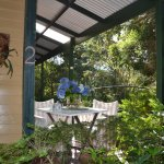 Very private verandahs and BBQ's