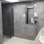 Newly refurbished shower block  :)