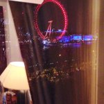 The London Eye from the room