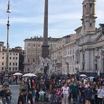 This piazza is the best in Rome for ambience