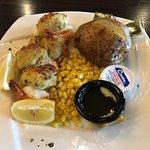 Randolph Diner - my stuffed shrimp entree