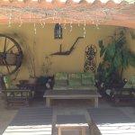 Private area for Santa Fe Room