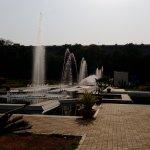 Fountains at garden