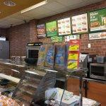 Subway (Macedon) - ordering counter