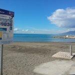 Playa de Pedregalejo . Servicios.