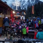 Apres ski at the Mooserwirt