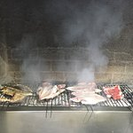 Our fish on the Grill