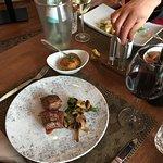 Steak with wild champignon