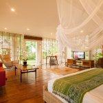 Bedroom in the Luxury 2 bedroom Residence