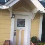 Door to Carriage House
