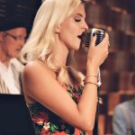 We love jazz and wanted a fun night out, but were blown away by the passion in her voice!