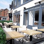 Our new Terrace, you're welcome to join us.