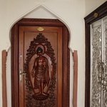 Entrance door to Nirvana Room/ Suit