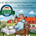 Seit 30.März ,2017 unter neuen  Wirtsleuten Christine und Reinhard Wagner