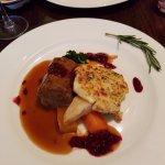 lamb shoulder and potato souffle