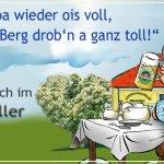 Wenns im 1. Lokal der Familie Wagner voll ist, dem Weißbräu Huber , dann rauf zum Hofbrauhaus Ke