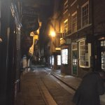 The Shambles, York on the ghost walk