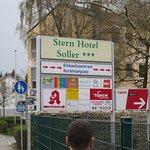 Stern Hotel Soller (Schild an der Straße)