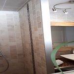 Salle de bain de la chambre Lotus