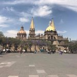 Cathedral in the Centro Historico 15 minute walk away. Gorgeous.