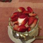 Strawberry with Ice Cream