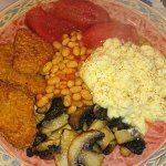 Veggie breakfast not a problem xx