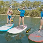 Happy Paddlers with Jervis Bay Stand Up Paddle