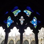 preserved stain glass windows