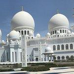 La Grande Mosquée à Abu Dhabi