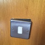 this is the light switch in my room . easy fix for most hotels .