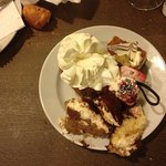 The desserts we took