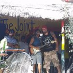 Jamming with Julian and the Reggae Band at The Joint!