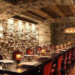The Grotta room offers private dining for up to 20 guests