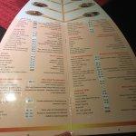 Russian menu